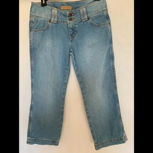 Tommy Jeans Denim Capri Pants Size 7